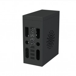 UDH2-PLUS - PC computer security enclosures -  64cm H x 28cm W x  55cm D