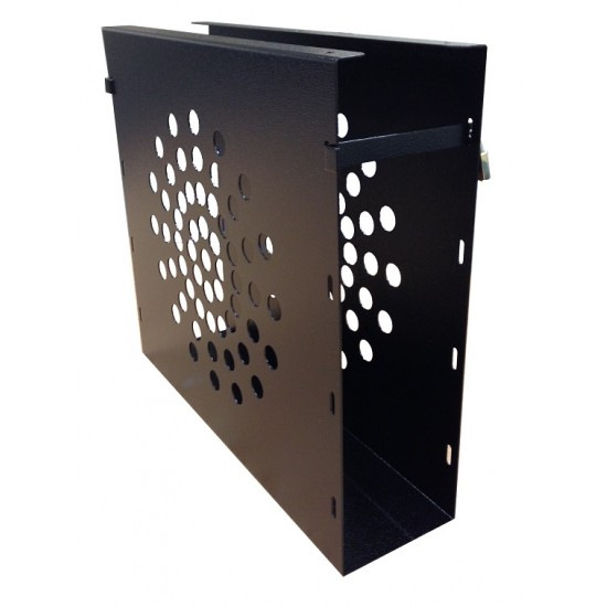 UDH1S - Slim under desk desktop computer hanger - 41cm L x 11cm W x 37cm H