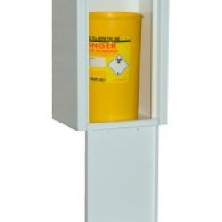 Heavy Duty Wall Mounted Needle Disposal Bin - WNE3-HD